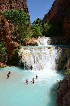Havasupai Falls: Baevers Falls Supai, Arizona