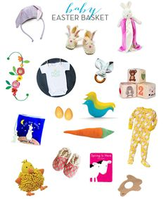 Cool easter basket gift ideas for babies personalized gift ideas baby easter basket ideas negle Gallery