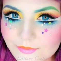 Love colorful makeup!? Create a colorful cosmetic creation and show it off at http://www.makeupbee.com to enter our /sugarpill/ Cosmetics Spring Into Color Contest!