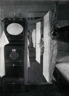 FIRST CABIN OUTSIDE STATEROOMS (EN SUITE)