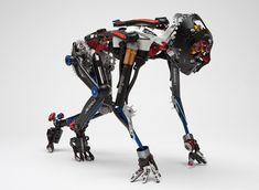 For Robot Lovers Rude Mechanicals, Gundam, Humanoid Robot, Arte Robot, Arte Cyberpunk, Art Competitions, Ex Machina, Robot Design, Bike Parts