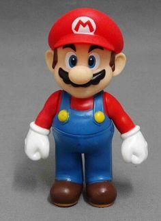 Super Mario Brothers 12cm high  Mario  Toys  Action Figure - http://www.aliexpress.com/item/Super-Mario-Brothers-12cm-high-Mario-Toys-Action-Figure/32373434461.html