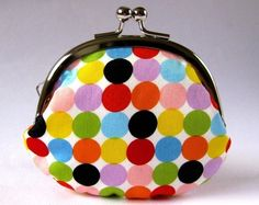 change purse - candy dots