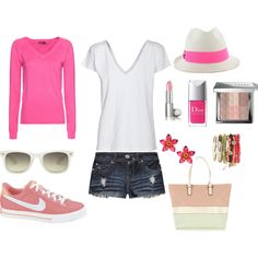 Pink Love, created by ltmisssunshine on Polyvore