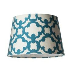 With Teal Lamps.  Threshold™ Flocked Shade Small - Trout Stream Quick Information