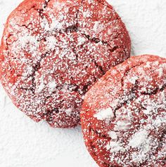 If one of your team's colors is red, then you must make Red Velvet Cake Cookies. Easy as that.