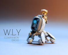 """W.L.Y / S.P.D Droids LEGO MOC"" by GolPlaysWithLego: Pimped from Flickr"