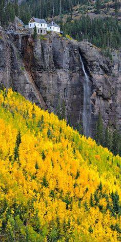 Telluride, Colorado #amazing #awesome #yellow #rocks