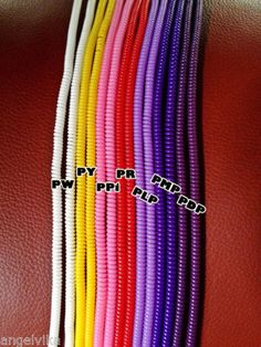 spiral usb cord protector set of 3 phone springs mobile fashion accessory ebay