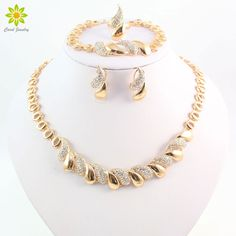 Find More Jewelry Sets Information about Fashion Women African 18 K Gold Plated Necklace Earrings Set Party Bridal Wedding Accessories Jewelry Set ,High Quality accessories samsung,China jewelry display Suppliers, Cheap jewelry accessories from Carol Jewelry on Aliexpress.com
