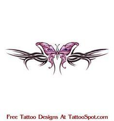 Lower Back Tattoos   ... / Free Lower Back Tattoo Designs / Lower Back ...