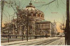 Ateneul Român din Bucureşti, s. Bucharest, Vintage Photographs, Time Travel, Taj Mahal, Tourism, Memories, Dan, Country, Building