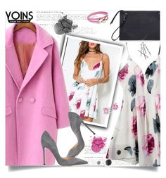 """""""Yoins"""" by jiabao-krohn ❤ liked on Polyvore featuring Gianvito Rossi, Bling Jewelry, Salvatore Ferragamo, yoins, yoinscollection and loveyoins"""