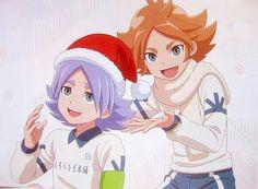 Fubuki Atsuya and Fubuki Shirou from Inazuma Eleven Aresno Tenbin ❙ Magazine Otomedia