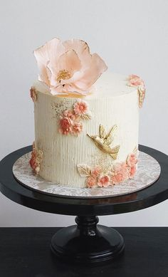 These latest wedding cakes are the latest instragram wedding cake trend from fabulous artist cake designers. Whether concrete wedding cake, aged stone wedding cake,. Beautiful Birthday Cakes, Beautiful Wedding Cakes, Gorgeous Cakes, Pretty Cakes, Cute Cakes, Elegant Cake Design, Beautiful Cake Designs, Elegant Cakes, Small Wedding Cakes