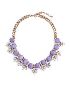 Frosted Lilac Necklace by JewelMint.com, $29.99