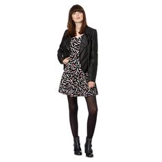 H! by Henry Holland Designer black sweetie sweetheart dress- at Debenhams.com