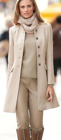 neutral / layers....I like this in a few to a lot of shades darker for fall