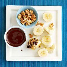 Clean Eating Dessert Recipes: Banana with Dark Chocolate-Honey Sauce