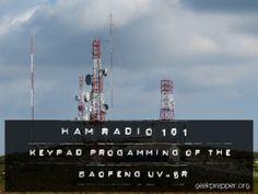 keypad programming baofeng uv-5r