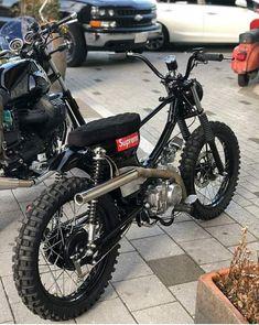Next project - Today Pin Honda Scrambler, Cafe Racer Honda, Cafe Racer Bikes, Custom Moped, Custom Bikes, Motorcycle Design, Motorcycle Bike, Motos Retro, Mini Motorbike