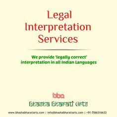 Interpretation breaks the language barrier. Get Professional Interpreters in any Indian Languages   #translation #interpretation #bhashabharati #languagetranslation