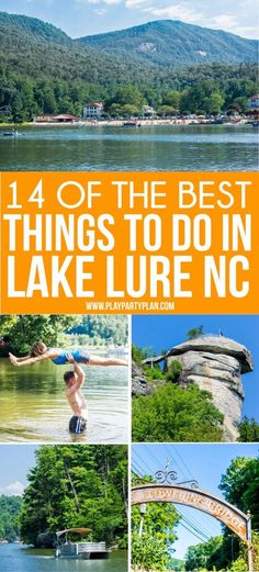 Great list of things to do in Lake Lure North Carolina whether you're a Dirty Dancing fan or not! Everything from which cabins & lodges to stay in to rocks to climb, state parks to visit, and of course restaurants to eat at! Lake Lure North Carolina, North Carolina Vacations, Camping In North Carolina, North Carolina Mountains, New Travel, Travel Usa, Family Travel, Family Camping, Dirty Dancing