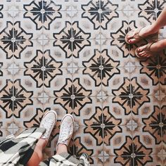 Are you living your dream? Floor Patterns, Tile Patterns, Vinyl Flooring, Kitchen Flooring, Painted Floors, Tiled Floors, Encaustic Tile, House Tiles, Tiles Texture