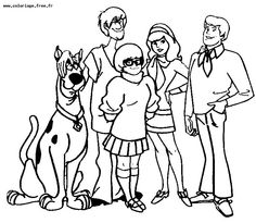 Scooby Doo coloring page | Scooby Doo | Pinterest | Birthdays ...