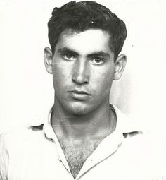 A young Benjamin Netanyahu the day he enlisted in the IDF in 1967. He trained as a combat soldier and became a team leader in the elite special forces unit, Sayeret Matkal.