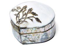 Shell Box w/ Sterling Silver on OneKingsLane.com