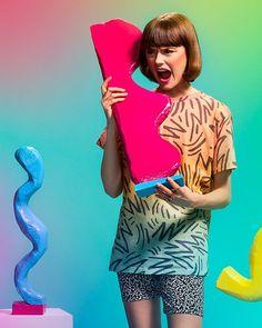 Another #fbf gem fron 'Hotdog Mustard Pump' project by @willbryantplz @nicolleclemetsonstudio @kristinelizabethlane featuring a #PAOM t-shirt designed by @willbryantplz#PAOM #printalloverme