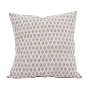 Elca Cushion Pearl on Linen - Available in two sizes: 40 cm and 60 cm.