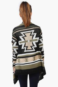 Army Wrap Sweater