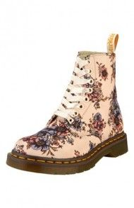 Buty (w kwiaty) Dr. Martens, Combat Boots, Shopping, Shoes, Fashion, Moda, Combat Boot, Zapatos, Shoes Outlet