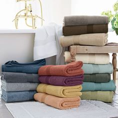 Legends® Egyptian Cotton Bath Towels in Mulberry