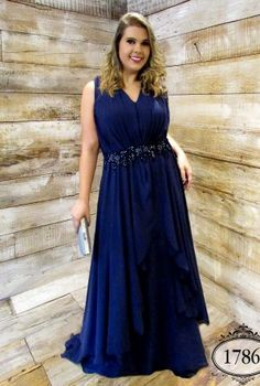 Prom Dress Beautiful, A-Line V-Neck Dark Blue Chiffon Plus Size Prom Dress with Appliques Beading, Discover your dream prom dress. Our collection features affordable prom dresses, chiffon prom gowns, sexy formal gowns and more. Find your 2020 prom dress Best Formal Dresses, Navy Blue Prom Dresses, Long Formal Gowns, Plus Size Prom Dresses, Popular Dresses, Prom Dresses Online, Formal Evening Dresses, Dresses Uk, Bridesmaid Dresses