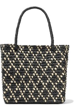Shop on-sale Canasta Rombos mini toquilla straw tote. Browse other discount designer Totes & more luxury fashion pieces at THE OUTNET Tote Handbags, Purses And Handbags, Tote Bags, Crochet Tote, Straw Tote, Designer Totes, Tote Backpack, Basket Bag, Knitted Bags