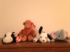 Rare Vintage Ty Beanie Babies from the 90's by 90sVintageFun, $20.00