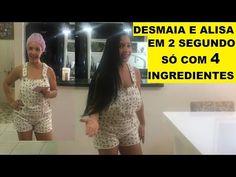 ALISA E DESMAIA EM 2 SEGUNDOS SÓ COM 4 INGREDIENTES!!!RECEITA SIMPLES E BARATA! - YouTube