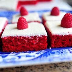 Pioneer woman's red velvet sheet cake! Yes!