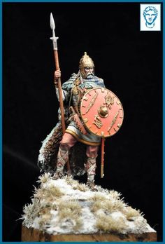 "Timeline Forum • ""Frankish Warrior, V-VI Century a.D."""