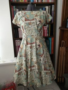 By Hand London Anna Map dress
