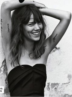 Freja Beha Erichsen // perfect lady