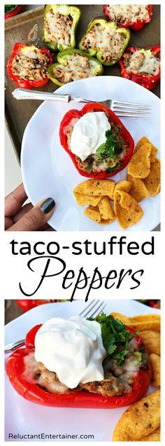 Taco-Stuffed Peppers Recipe