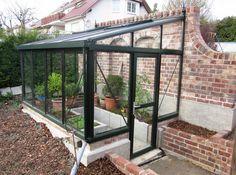 Lean To Greenhouse, Backyard Greenhouse, Bonsai Fruit Tree, Fruit Trees, Blueberry Bushes, Garden Equipment, Glass House, Growing Plants, Garden Projects