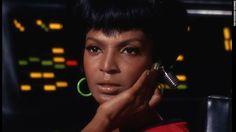 'Star Trek' actress Nichelle Nichols suffers stroke - Nichelle Nichols played Lt. Uhura, the communications officer on the Starship Enterprise