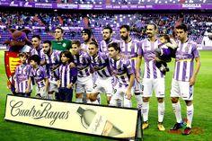 EQUIPOS DE FÚTBOL: REAL VALLADOLID contra Real Oviedo 18/11/2017 Liga de 2ª División