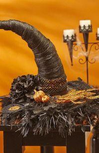 FloraCraft® Witch Hat Centerpiece  #halloween #craft
