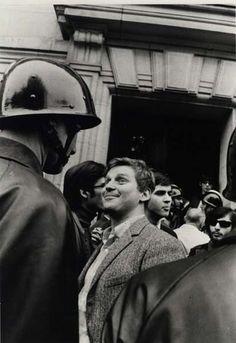© Gilles Caron, Daniel Cohn-Bendit, Paris 6 mai 1968